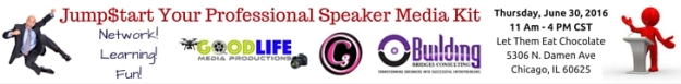 RSVP now to Jump$tart Your Professional Speaker Media Kit